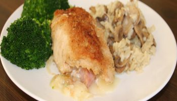 Chicken Cordon Bleu with Risotto website